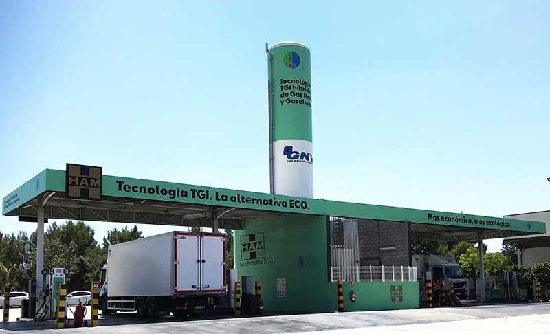 Las estaciones de servicio de Grupo HAM permitirán repostar BIO GNC